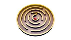 放肆-第二幸福(圆的迷宫) 库存例证
