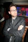 放音套党的詹姆斯Avallone, House of吹管,西部好莱坞, CA. 04-04-10 免版税库存照片