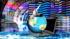 财政事务 全球化金钱 图库摄影
