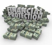 财政保护安全安全金钱投资帐户萨文 库存图片