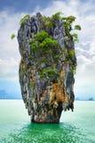 政券海岛在泰国 库存图片