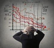 财政压力 免版税库存照片