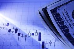 财政图表 免版税库存图片