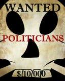 政客 免版税图库摄影