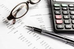 财政工商业票据 库存图片