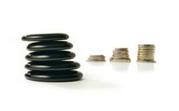 财政平衡表 免版税库存照片