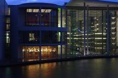 政府区在柏林 免版税图库摄影