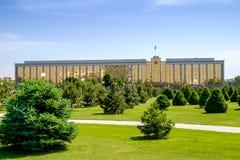 政府大厦在塔什干 免版税图库摄影