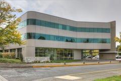 政府大厦在格雷沙姆,俄勒冈 免版税库存图片