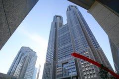 政府大厦在街市的东京,日本 图库摄影
