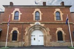 政府大楼,阿德莱德监狱,阿德莱德,南Australi 免版税库存图片