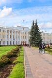 政府大楼Nizhny Novgorod 库存图片