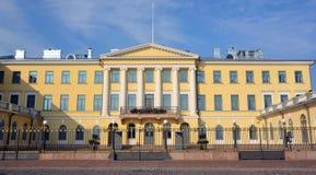 政府宫殿在赫尔辛基 库存图片
