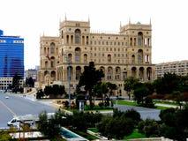 政府宫殿巴库阿塞拜疆 图库摄影