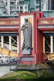 政府寓言的雕象,伦敦 库存照片