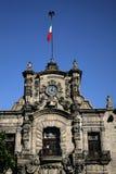 政府瓜达拉哈拉墨西哥宫殿 库存图片