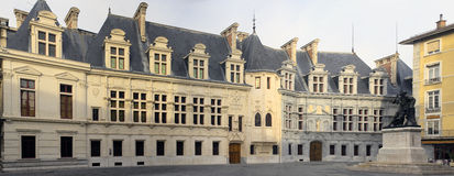 政府老宫殿 库存图片