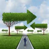 财政成功方向 向量例证