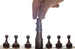 财政战略 免版税图库摄影