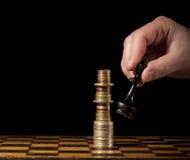 财政战略 免版税库存照片