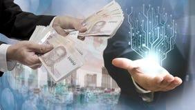 财政技术概念 免版税库存图片