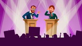 政治集会传染媒介 谈论问题 国际会议 论坛 大观众 选举前竞选 皇族释放例证