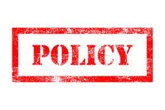 政策不加考虑表赞同的人 库存照片