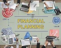 财政规划银行业务簿记金钱概念 免版税库存图片