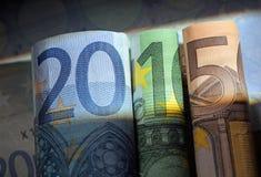 财政年度2015年 免版税图库摄影