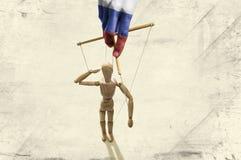 政治比赛俄罗斯 免版税库存图片