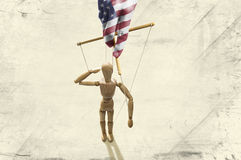 政治比赛美国 免版税库存图片
