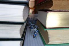 从故事书的战士 免版税图库摄影
