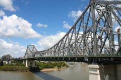 故事桥梁在布里斯班 库存图片
