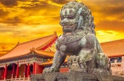 故宫博物院在故宫,中国 库存照片