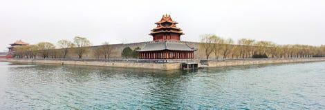 故宫博物院城楼在斯平2# 库存照片