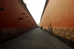 故宫博物院的道路 库存照片