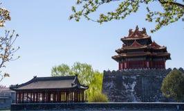 故宫的一个角落 免版税库存图片
