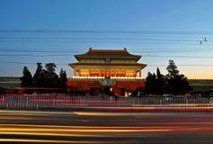 故宫Shenwu门  库存照片