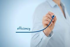 效率增量 免版税图库摄影