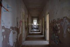 救世的走廊 免版税库存图片