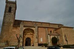 救主的教会的主要门面在锡丰特斯 建筑学,宗教旅行 库存照片