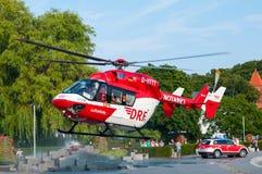 救伤直升机 免版税图库摄影