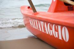 救助艇 免版税库存照片