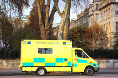 救护车伦敦 免版税库存照片