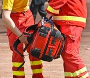 救护车材料用医疗设备 库存图片