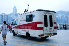 救护车汽车欧罗巴德国慕尼黑 库存照片