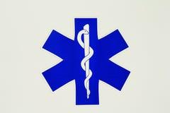 救护车符号 图库摄影