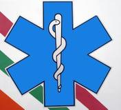 救护车符号 免版税库存照片