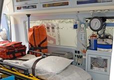 救护车设备 免版税库存照片