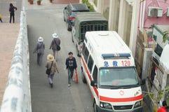 120救护车 库存照片
